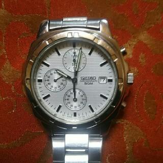 セイコー(SEIKO)のセイコークロノグラフ 型番:7T92-0CA0(腕時計(アナログ))