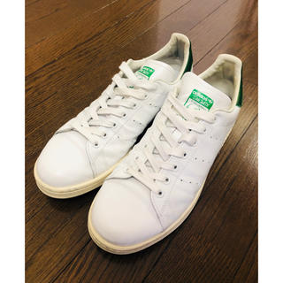 アディダス(adidas)の【美品】スタンスミス ガラスレザー 28.5㎝(スニーカー)