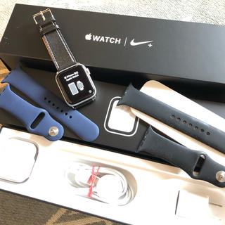 Apple Watch - Apple  Watch series4 44mm ナイキ シルバーアルミ