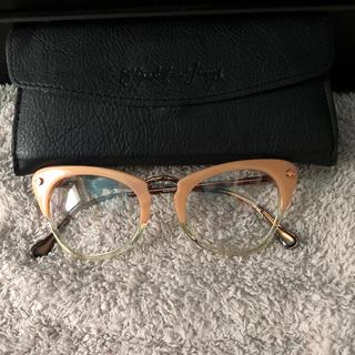 バーニーズニューヨーク(BARNEYS NEW YORK)のエリザベス&ジェームス 伊達眼鏡 wakabaさま専用(サングラス/メガネ)