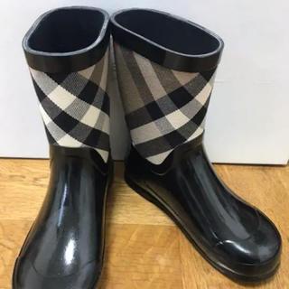 バーバリー(BURBERRY)のバーバリー 長靴 レインシューズ(長靴/レインシューズ)