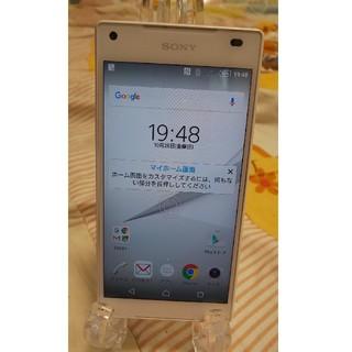 Xperia - 良品 docomo SONY SO-02H Z5 32GB ホワイト