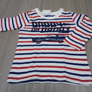 ダディオーダディー(daddy oh daddy)のDaddy oh Daddy 長袖シャツ サイズ80(Tシャツ)