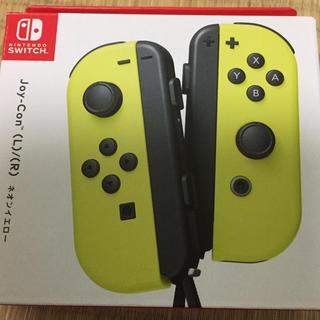 ニンテンドースイッチ(Nintendo Switch)のみにー様専用 新品未使用 Joy-Con イエロー(家庭用ゲーム本体)