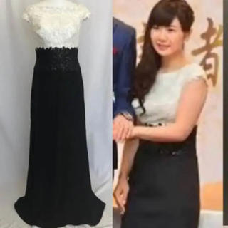 タダシショウジ(TADASHI SHOJI)の新品 タダシショージ Tadashi Shoji バイカラー ロングドレス (ロングドレス)