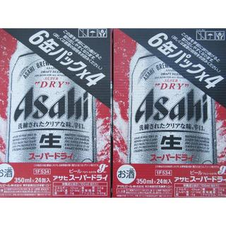 アサヒ(アサヒ)のアサヒ スーパードライ 350ml×24 2ケースです。MR355f4(ビール)