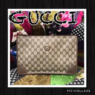 グッチ(Gucci)の正規品✳︎OLD GUCCIオールドグッチ✳︎ G  Gプラスクラッチバッグ✳︎(クラッチバッグ)