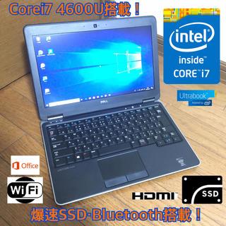 ヒューレットパッカード(HP)の[Office・Bluetooth搭載]Corei7 DELL ノートパソコン!(ノートPC)