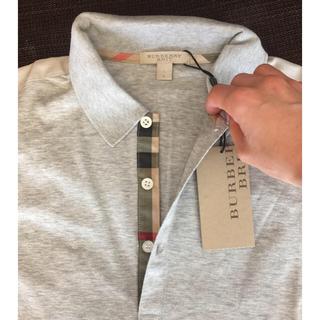 バーバリー(BURBERRY)の【タグ付き新品】バーバリー ポロシャツ L(ポロシャツ)