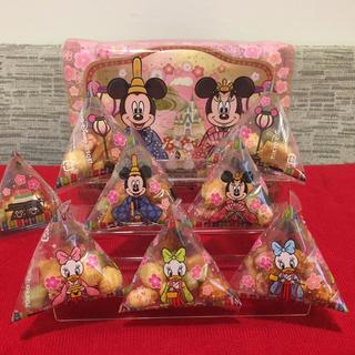 ディズニー(Disney)の【飾る台付き!】ディズニー 雛まつり2019 雛あられ(菓子/デザート)