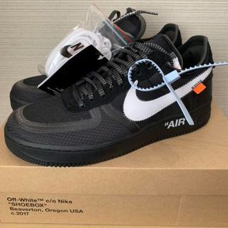 OFF-WHITE - NIKE AIR FORCE 1 LOW OFF-WHITE 27.5cm