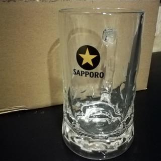 サッポロ黒ラベル ディンプルジョッキ 1箱3個入り(アルコールグッズ)