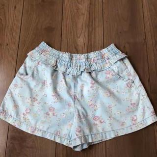 ジーユー(GU)のGU ガールズ ジーユー 女の子 ショートパンツ デニム 春服(パンツ/スパッツ)
