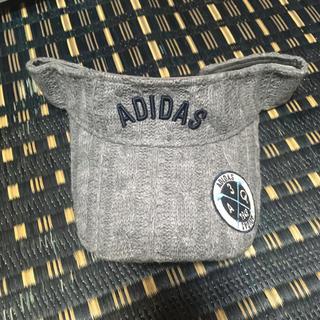 アディダス(adidas)のadidas サンバイザー(キャップ)