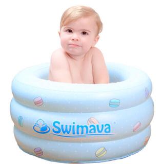 マカロンバス スイマーバ 沐浴 ベビーバス(お風呂のおもちゃ)