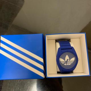 アディダス(adidas)の【新品・未使用】 adidas アディダス 時計 ブルー(腕時計(アナログ))
