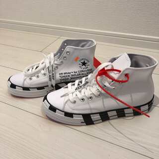 STUD HOMME - off-white converse CHUCK TAYLOR風