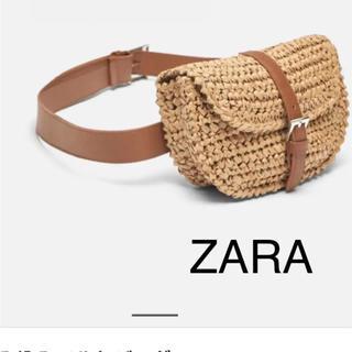 ZARA - 新品◎ZARA 編み込みベルトバッグ