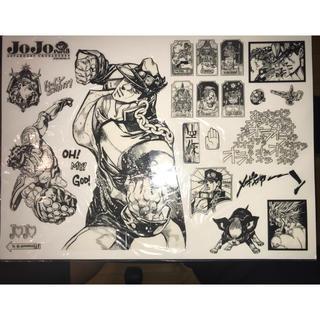 シュウエイシャ(集英社)のジョジョの奇妙な冒険 3部 ウォールステッカー(少年漫画)