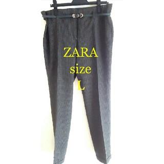 ザラ(ZARA)のZARA Lsizeボトムス(クロップドパンツ)