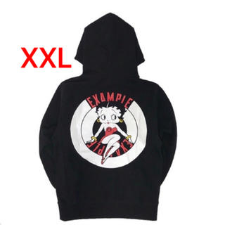 EXAMPLE X BETTY BOOP ROUND LOGO PULLOVER(パーカー)