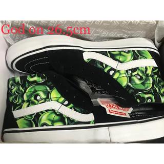 Supreme - 2018SS Supreme × Vans Skull Pile Sk8-Hi