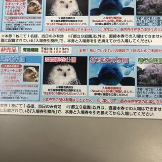 上野動物園2枚(動物園)