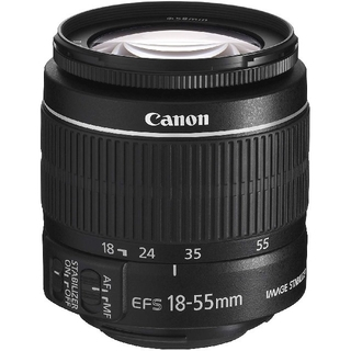 キヤノン(Canon)のCanon 標準ズームレンズ EF-S18-55mm (レンズ(ズーム))