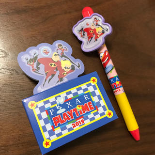 Disney - 【バラ売り☻】ディズニーシー ピクサープレイタイム ボールペン メモ帳