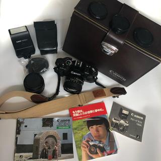 キヤノン(Canon)のレア! Canon AE-1 プログラム 色々セット(フィルムカメラ)