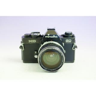 コニカミノルタ(KONICA MINOLTA)のMINOLTA ミノルタ XD 50周年記念 ボディ W ロッコール 28mm (フィルムカメラ)