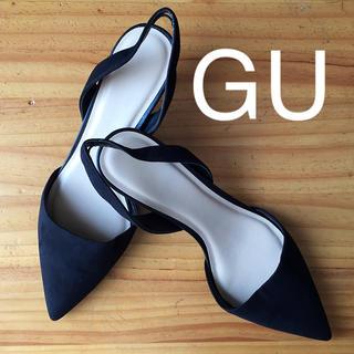 ジーユー(GU)のシンプルパンプス(ハイヒール/パンプス)