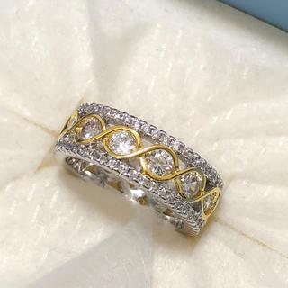 ゴージャスフルエタニティ シルバーリング 指輪(リング(指輪))