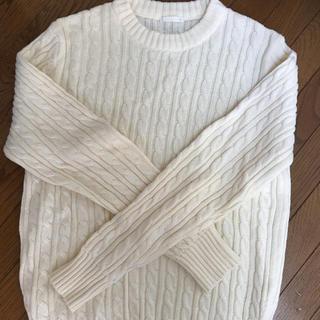ジーユー(GU)のメンズセーター(ニット/セーター)