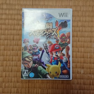 ウィー(Wii)の大乱闘 スマッシュブラザーズX  スマブラ(家庭用ゲームソフト)