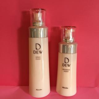 DEW - dew しっとり化粧水としっとり乳液