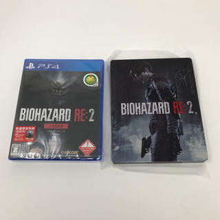 カプコン(CAPCOM)の新品 PS4 BIOHAZARD RE:2 Z Version+スチールブック(家庭用ゲームソフト)