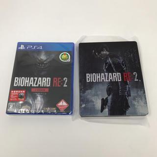 CAPCOM - 新品 PS4 BIOHAZARD RE:2 Z Version+スチールブック
