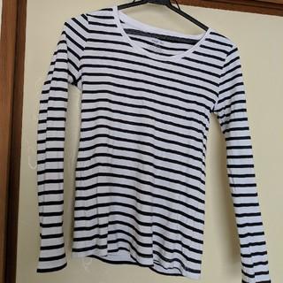 ジーユー(GU)のGU ボーダーT(Tシャツ(長袖/七分))