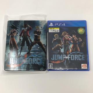 バンダイナムコエンターテインメント(BANDAI NAMCO Entertainment)の新品未開封 PS4 JUMP FORCE+ゲオ限定スチールブック(家庭用ゲームソフト)