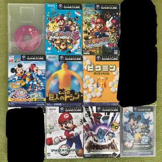 ニンテンドーゲームキューブ(ニンテンドーゲームキューブ)のゲームキューブソフト12品(家庭用ゲームソフト)