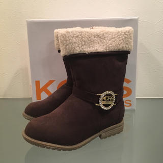 マイケルコース(Michael Kors)のMICHAEL KORS kids マイケルコースキッズブーツ 約17cm 新品(ブーツ)