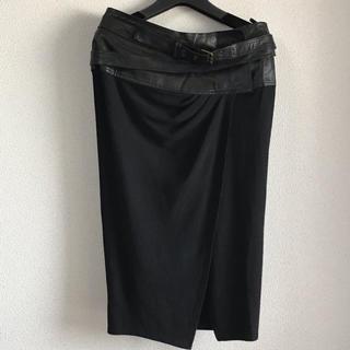 ダナキャラン(Donna Karan)のダナキャラン、スカート、レザーお値下げしました❤️(ロングスカート)