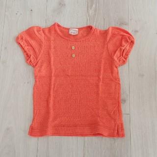 ウィルメリー(WILL MERY)の女の子100㌢WILL MERY☆Tシャツ☆オレンジ(Tシャツ/カットソー)