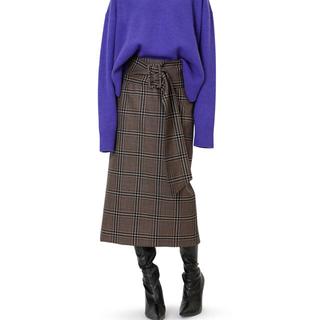 ルシェルブルー(LE CIEL BLEU)のルシェルブルー チェックスカート(ひざ丈スカート)