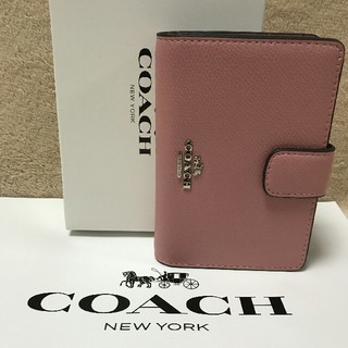 COACH - COACH コーチ 2つ折り財布 F53436 正規品 シグネチャー