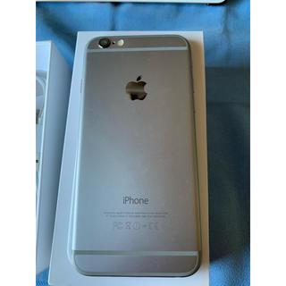 アップル(Apple)のiPhone6 64G シルバー(携帯電話本体)