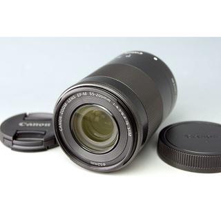 キヤノン(Canon)の【美品】キャノン EF-M 55-200mm F4.5-6.3 IS STM☆(レンズ(ズーム))