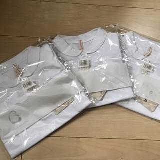 ベルメゾン - ベルメゾン☆ポロシャツ☆女の子☆花☆丸襟