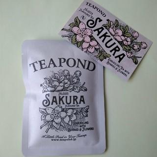 TEA POND フレーバーティー サクラ 新品未開封(茶)